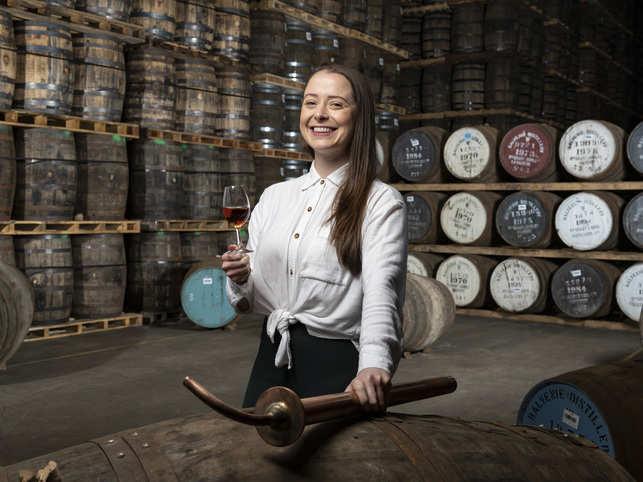 Gemma at the Distillery