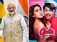 A 'superb gesture': PM Modi lauds Varun Dhawan, Sara Ali Khan's 'Coolie No. 1' for going plastic-free on set