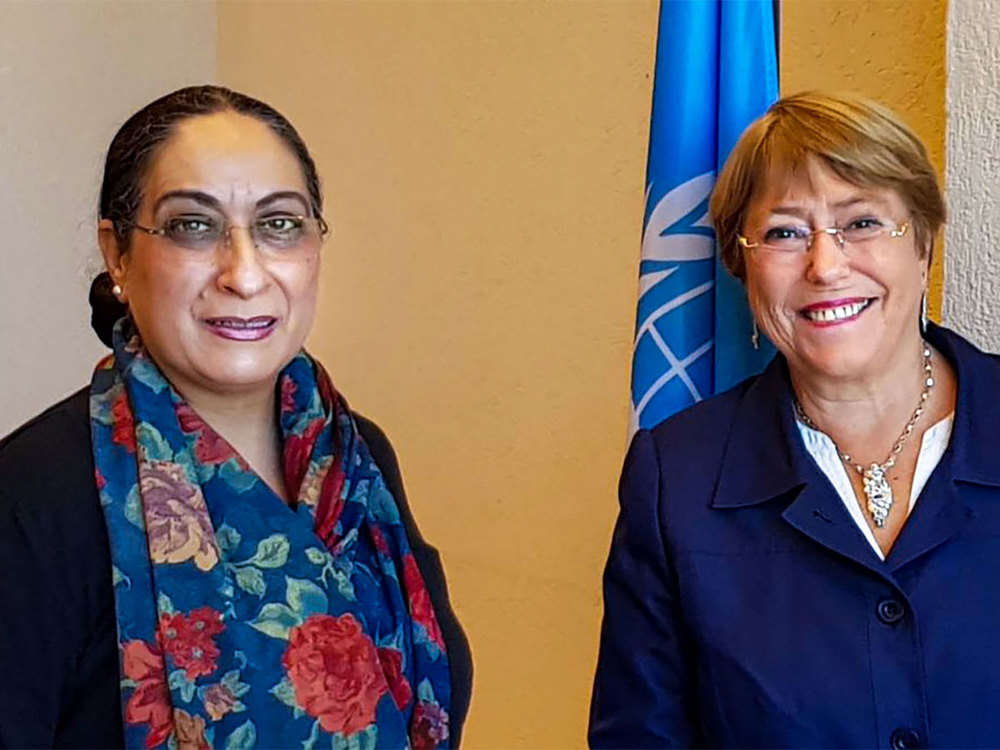 India briefs UN Human Rights High Commissioner Bachelet on measures taken to normalise life in J&K