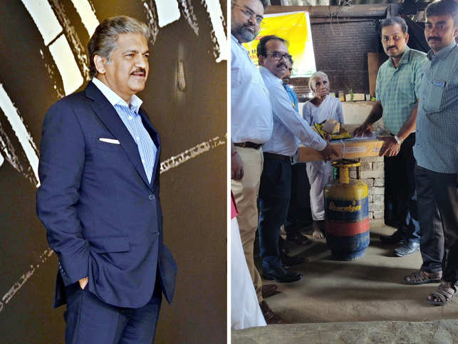 Social media on a good day: Mahindra offers to 'invest' in 80-yr-old's idli biz; Bharat Gas gives LPG connection