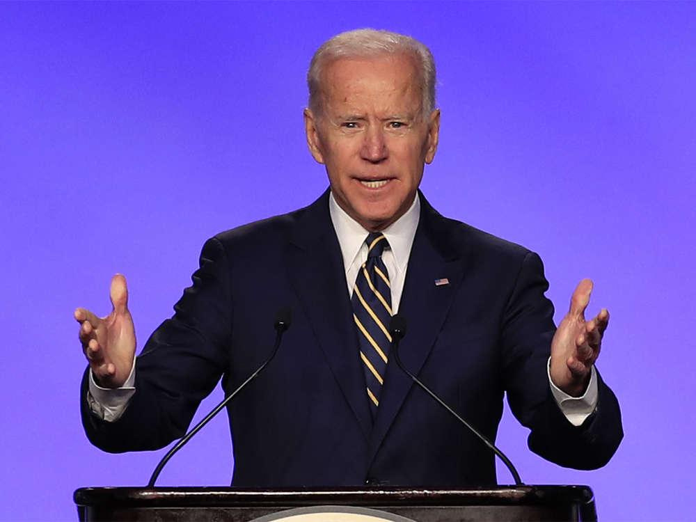 Joe Biden comes out fighting in democratic White House debate