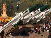 Rs 5400 crore deal inked for 7 more squadrons of Akash missiles for IAF