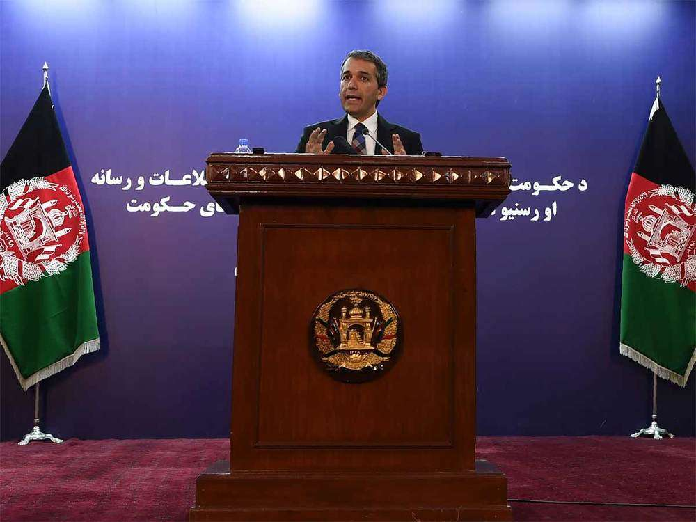 Afghan government says elections first, peace deal after
