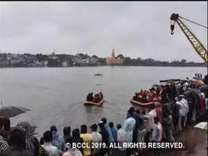 Andhra Pradesh: Tourist boat capsizes in Godavri river, no casualties reported