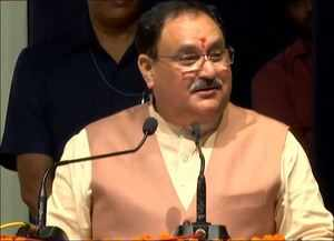 There will be delimitation before election in J&K: JP Nadda