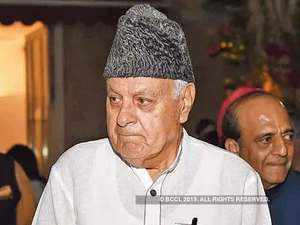 J-K: Farooq Abdullah detained under PSA, can go sans trial for 2 yrs