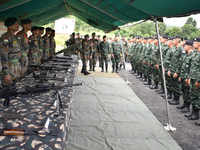 Armies of India, Thailand commence joint exercise in Meghalaya