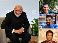 Modi turns 69: Akshay Kumar tweets poster of Bhansali's film on PM; Kohli, Tendulkar also wish
