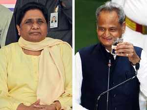 Rajasthan: Setback to Mayawati as all 6 MLAs merge BSP legislative party in Congress