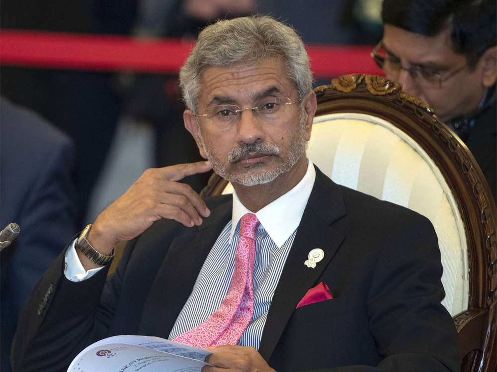 No rethink on India's position on Belt and Road Initiative: S Jaishankar