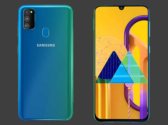 Galaxy M30s will come with India's first sAMOLED display.