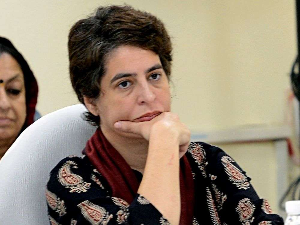 Confidence of investors shaken but Modi govt refuses to acknowledge truth: Priyanka