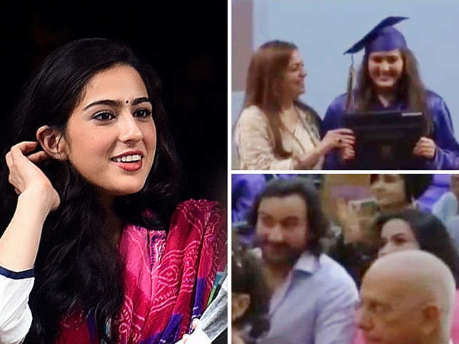 Sara Ali Khan's graduation video trended all through Tuesday.