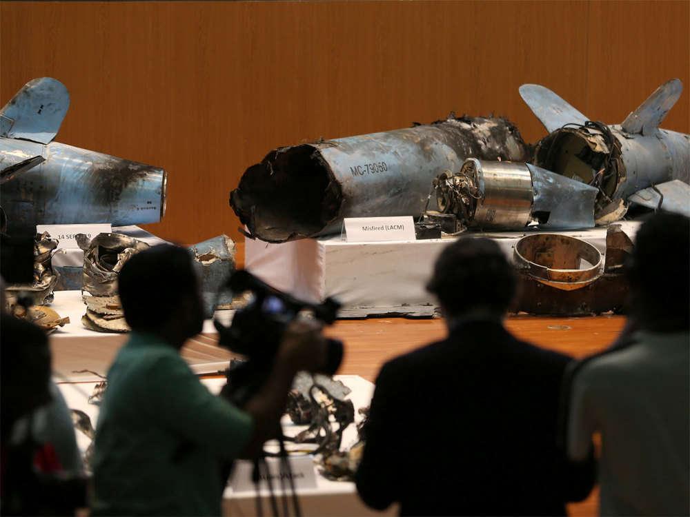 Saudi Arabia says Iranian sponsorship of attack undeniable, displays arms