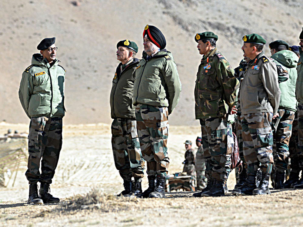 Indian army conducts massive exercise near China border in Eastern Ladakh