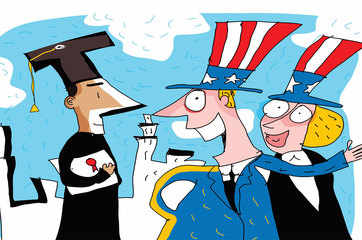 Go easy on H-1B, STEM pupils to win against China: US think tank