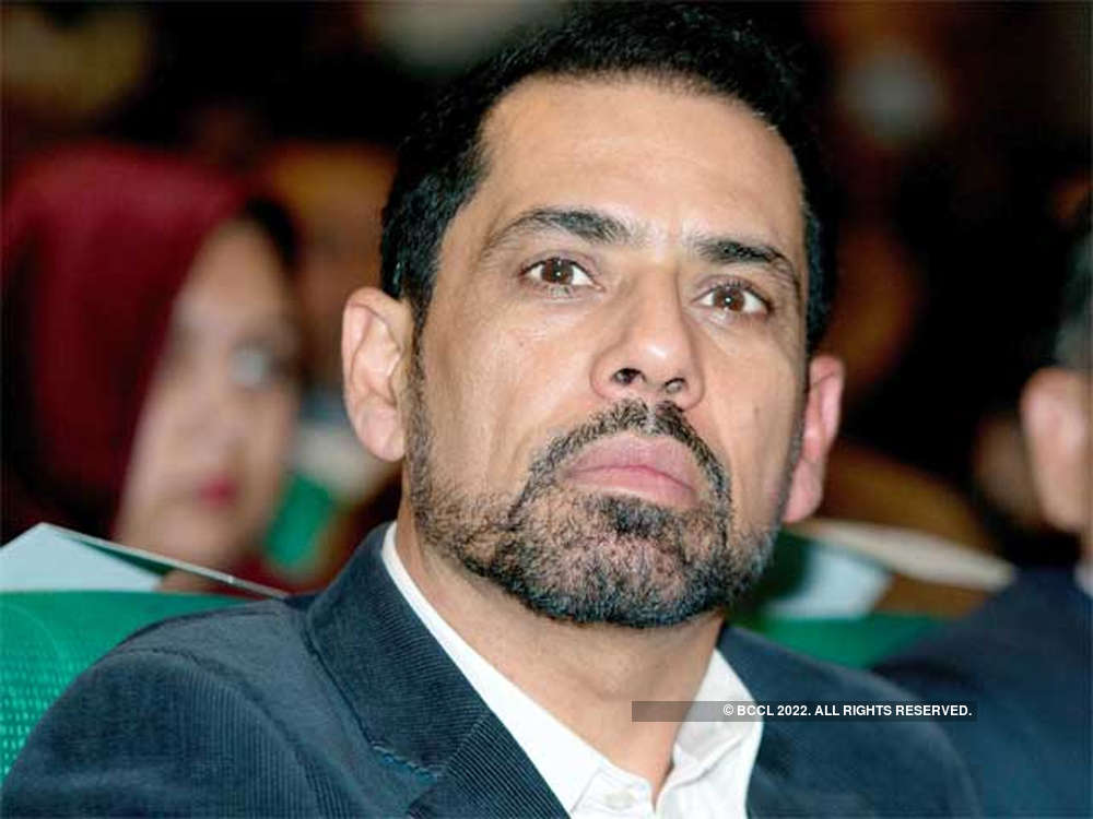 Process of cancelling land rights granted to Robert Vadra's firm started: Haryana official