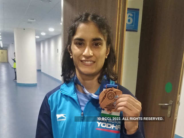 T​he road ahead is bright for Vinesh Phogat.​