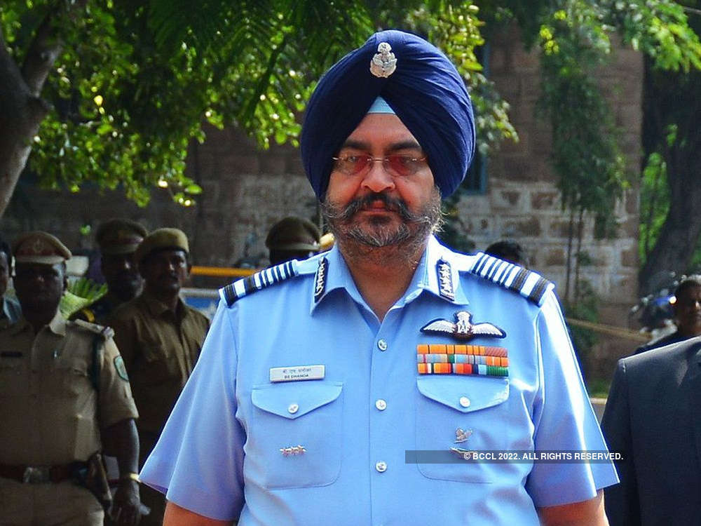 Domination of air essential to win war: IAF Chief B S Dhanoa