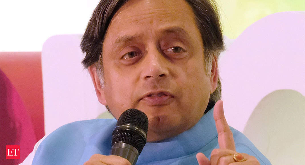Very little space for dissent in politics today: Shashi Tharoor