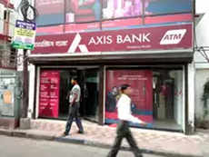 Who invested in Axis Bank share sale?