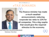 Much-awaited announcement; would give required stimulus to economy: Natarajan Chandrasekaran