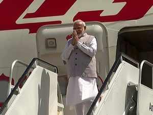 Howdy Modi: PM lands in Houston to attend mega diaspora event
