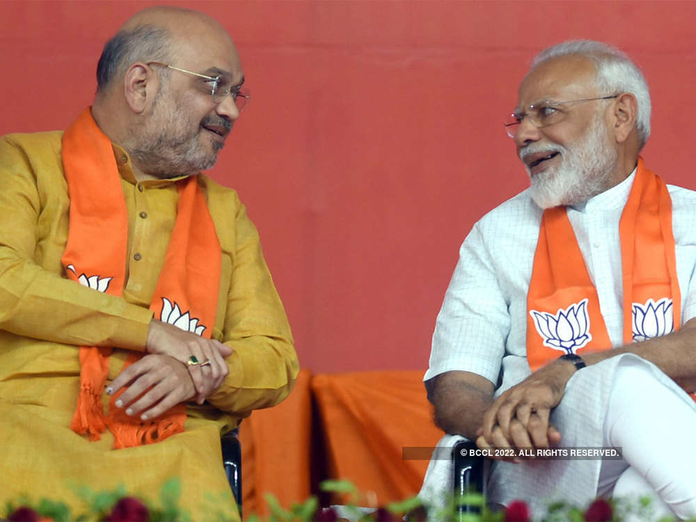 Modi-Shah to again be BJP's Jodi No. 1