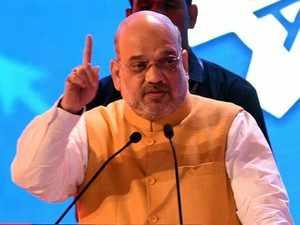 Amit Shah blames ex- PM  Jawaharlal Nehru for PoK's existence