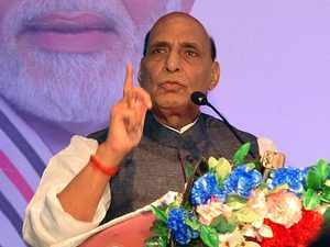 Pakistan will be into pieces if it continues human rights violations in PoK: Rajnath Singh