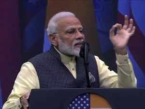 Howdy Modi: PM Modi targets Pakistan over terror and J&K in Trump's presence