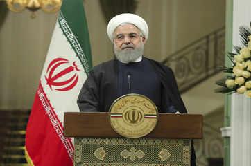 "Hassan Rouhani says Iran resists sanctions, drives U.S. ""desperate"""