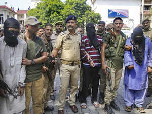 Three terrorists including those involved in BJP, RSS leaders' killings held in J-K's Kishtwar