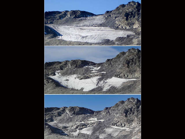 Image result for pizol glacier before and after