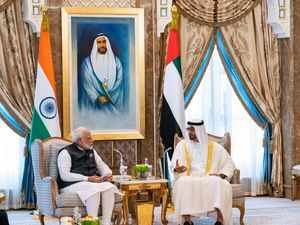 India UAE AFP