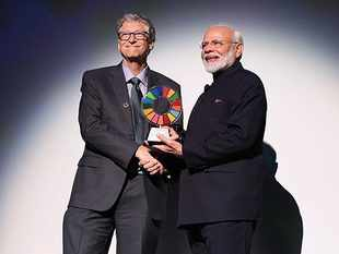 PM Modi conferred 'Global Goalkeeper' award for Swachh Bharat Abhiyan