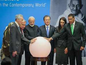 Gandhi Solar Park inaugurated at UN Headquarters, PM Modi says Bapu's influence became source of inspiration