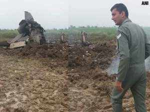 MiG-21 trainer aircraft crashes near Gwalior airbase, both pilots eject safely