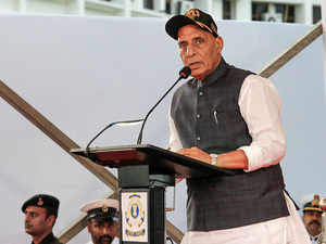 Indigenisation of naval equipment in over 15 years: Rajnath