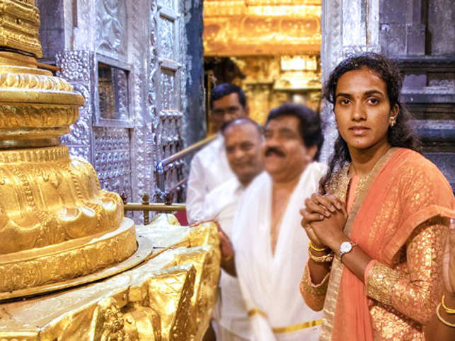 PV Sindhu effigy will be made using stem of arecanut tree, stem sheath of banana plantain, bamboo and lotus leaves, and colour extracts of 'ixora' flower.