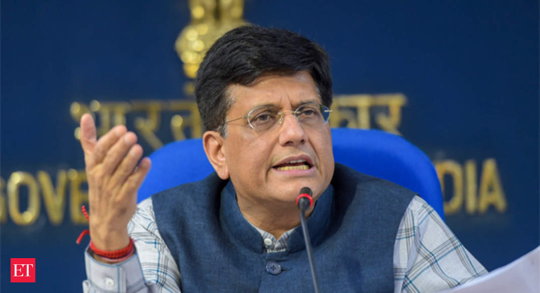Piyush Goyal and team working hard for trade deal - The Economic Times