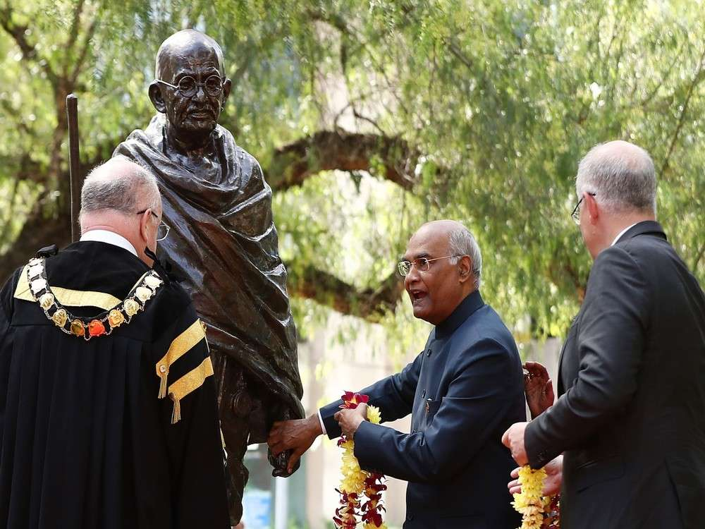 Aus set to celebrate Mahatma Gandhi's 150th birth anniversary