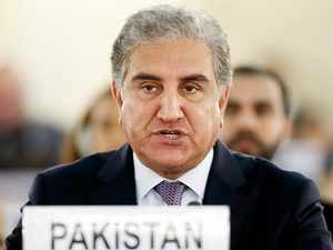 SAARC meet: Pakistan FM Qureshi cries Kashmir after skipping Jaishankar's speech