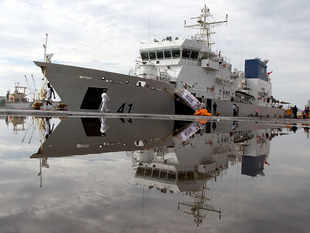 ICGS Varaha is 51st offshore patrol vessel built by L&T