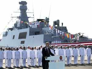 Turkey building naval warship for Pakistan: Erdogan