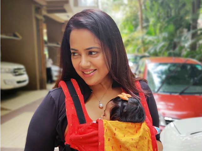Sameera Reddy welcomed her second child - Nyra - in July.