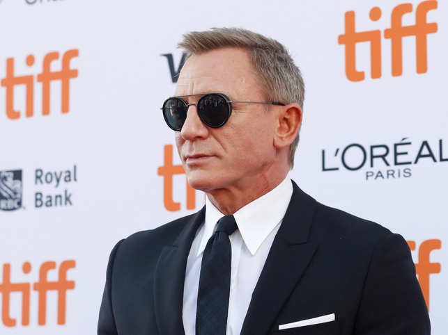 Daniel Craig made his first appearance as James Bond in 2006's 'Casino Royale'.
