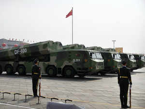 China showcases fearsome new missiles to counter US at military parade