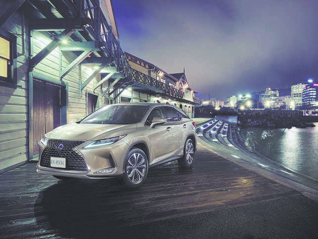 Lexus RX 450hL will be available for pre-booking this month.