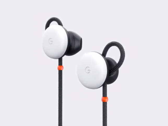 The earphones are expected to come with support for Google Assistant​. (​In pic: Google Pixel Buds​)